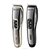 Professional steel blade hair clipper for men Progemei powerful washable