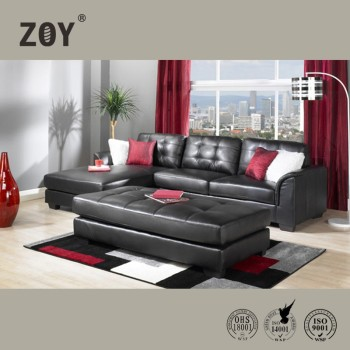 living room sofa furniture leather corner sofa designs metal leg sofa