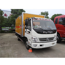 Foton transport truck of Miscellaneous dangerous goods Van