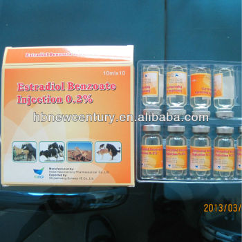 Estradiol Benzoate injection 0.2% for vet use only