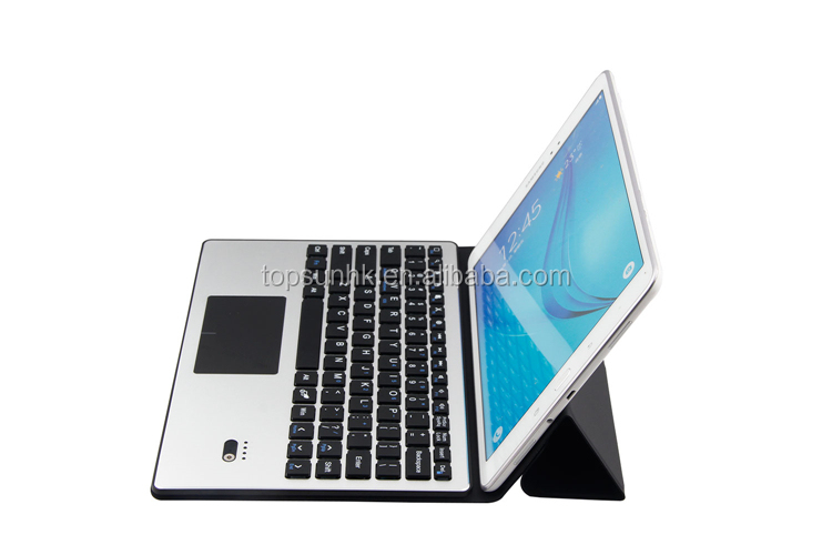 New promotion tablet pc metal wireless bluetooth keyboard case for ipad ios android with good price