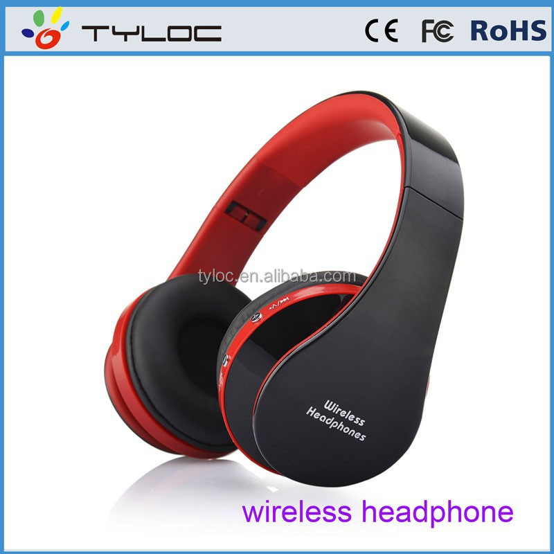 2015 new wireless bluetooth hifi stereo foldable wireless headphone