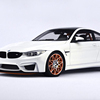 1:18 closed M4 GTS resin car model personal collection