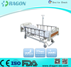Fully electric hospital bed with detachable ABS head/foot board