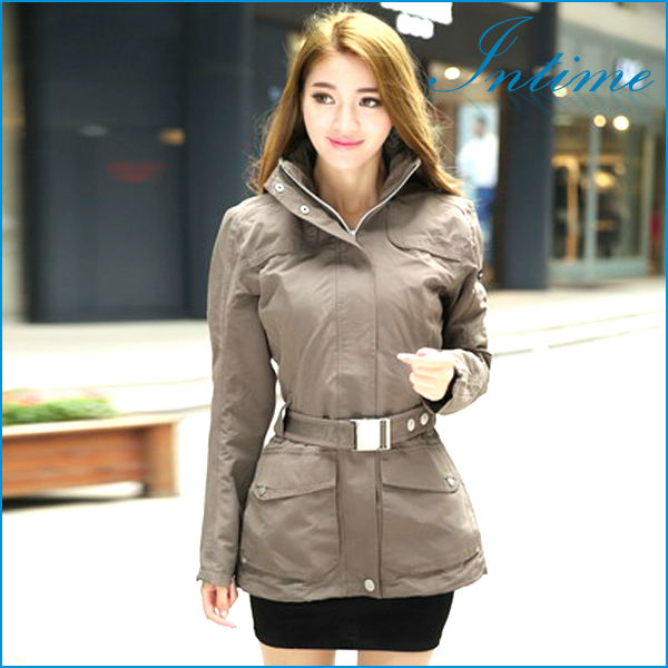 Spring/Autum new authentic Women Jackets 2014 casual jacket and long sections mountaineering outdoor camping supplies