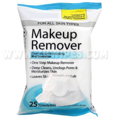 Lady Makeup Remover Face Cleaning Wet Wipes