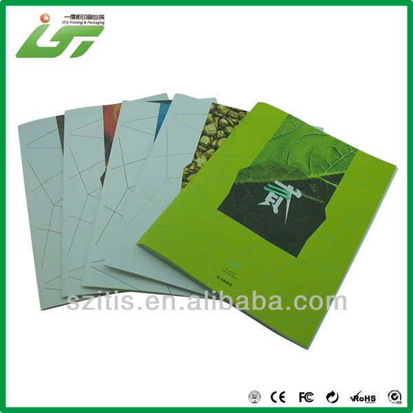 fashion product glossy magazine paper with logo UV