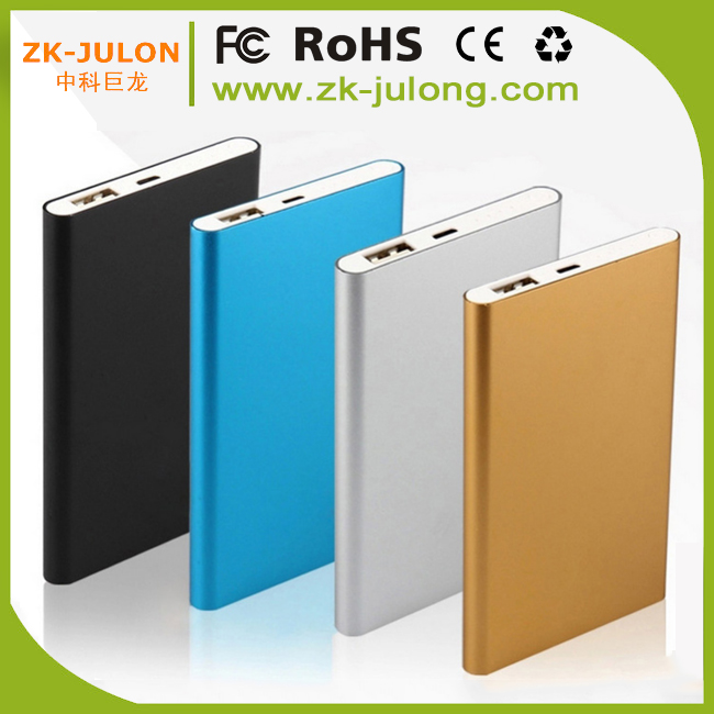 Cheap best ultra thin mobile power bank 4000mah external battery for iPhone, iPad, Blackberry