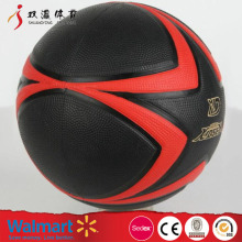 Inflation valve basket ball,promotion custom basketball in bulk,size 7 rubber basketball ball