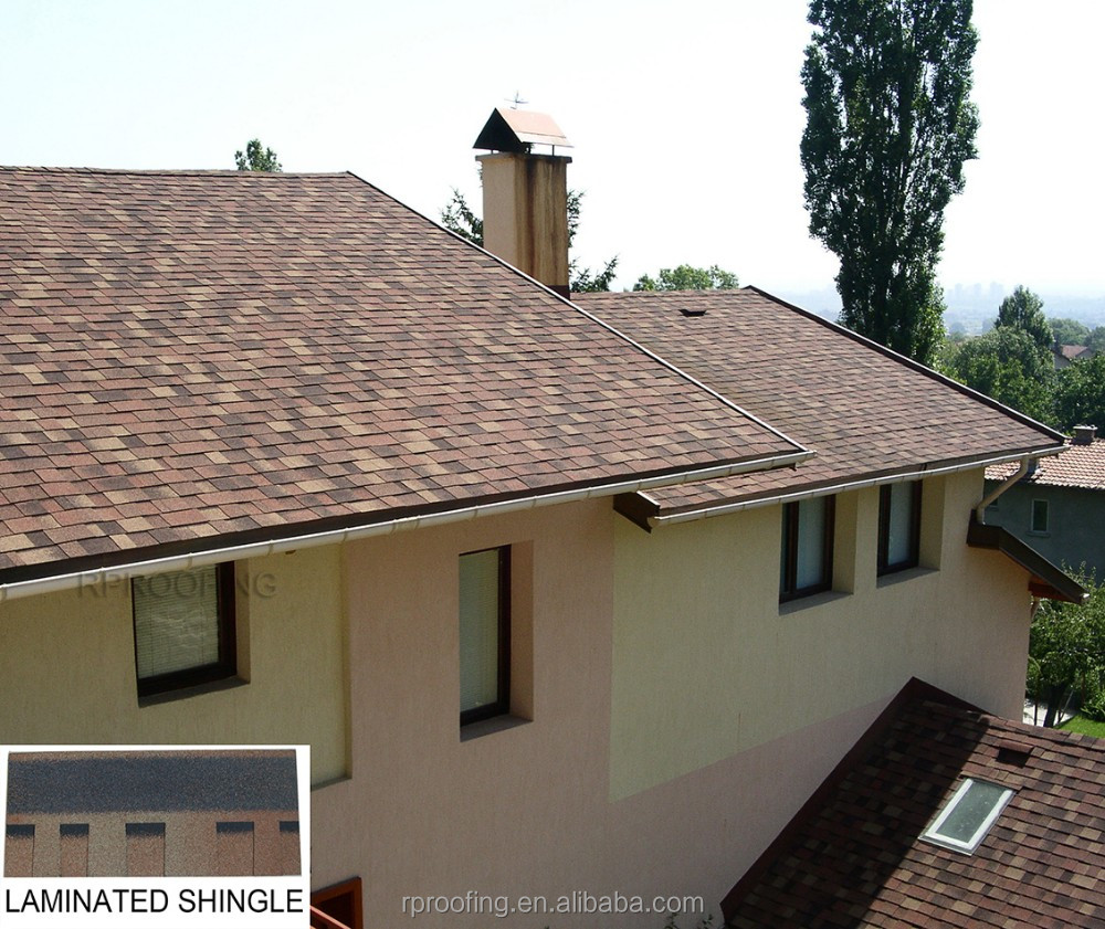 laminated asphalt roof tiles prices/shingle roof manufacturer