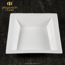 Tiro Series Porcelain Square Soup Plate
