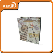 newly fancy fashion custom printing machine paper bag