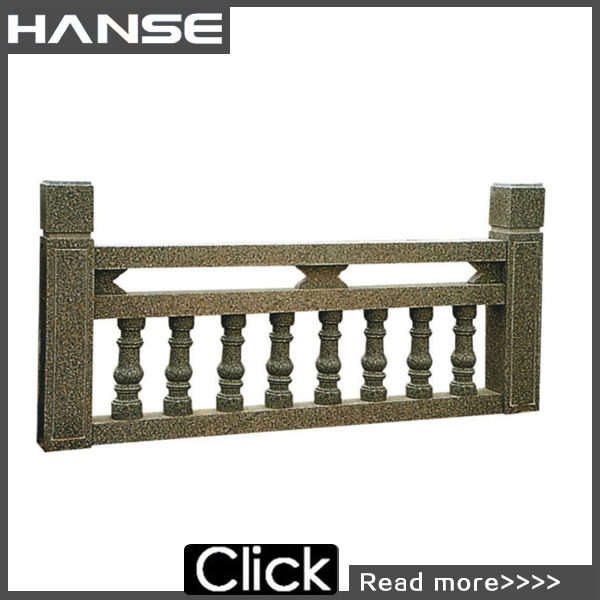 HS-RL01 stone carving balusters railings