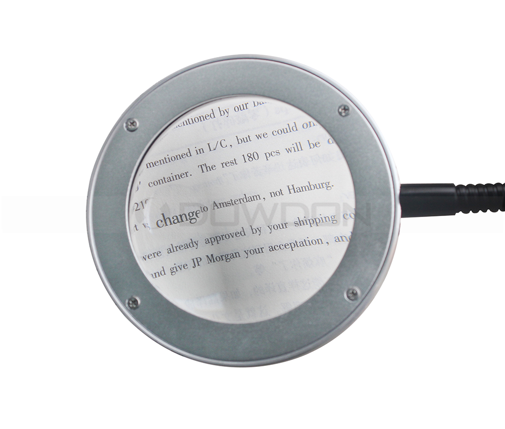 18 led Reading Light Acrylic Material Magnifying Lamp