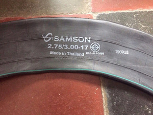 3.00-17 SAMSON MOTORCYCLE TUBE TO DUBAI