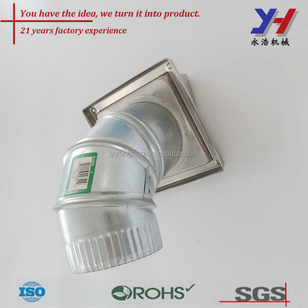 Factory supply Air conditioner duct pipe, Aluminum Ventiduct