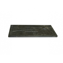 Hot sale black marble shower tray
