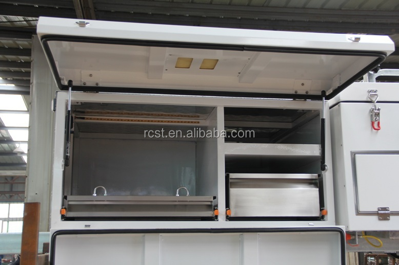 rear fold hard floor camper trailer RC-CPT-04L