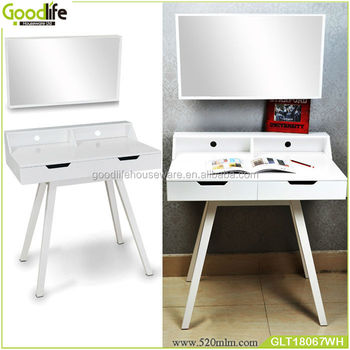 Goodlife bedroom furniture set wall mirror with desk