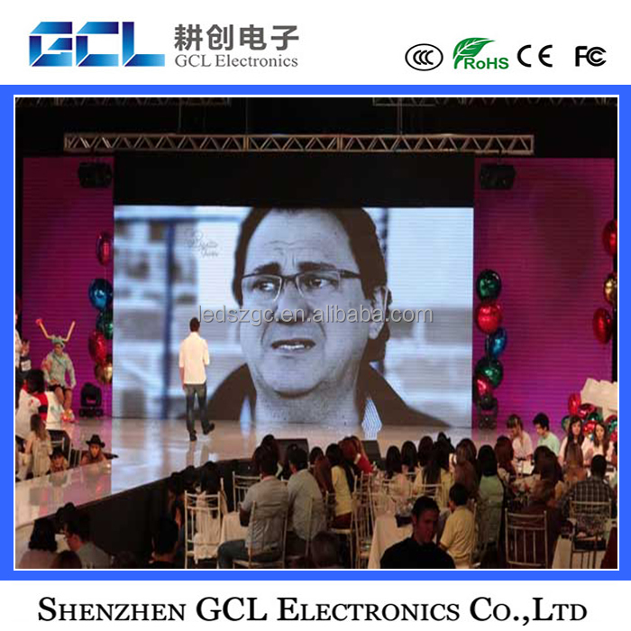 Shenzhen led display supplier high definition P6.5 indoor and outdoor led display screen