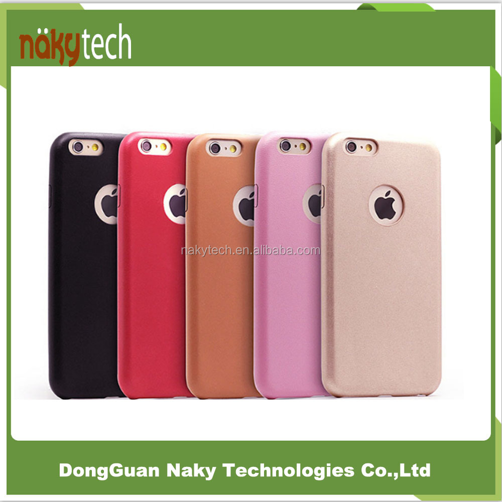 Free Sample Factory Price PU Protective Defender leather Phone Cover for iphone 7 / 6s