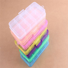 multipurpose plastic container storage box portable takeway case pill box jewelry box container
