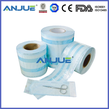 Medical Heat-sealing Sterilization Gusseted Roll