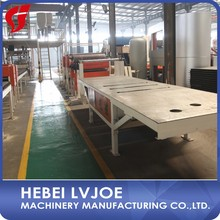 plaster of paris ceiling board making machine/paper faced gypsum board machinery
