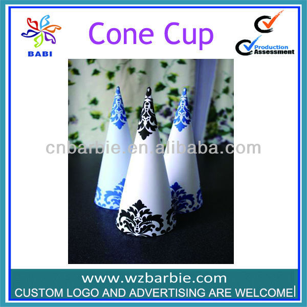 Ice Cream Packing Cone Cups/Snow Paper Cone Sleeves