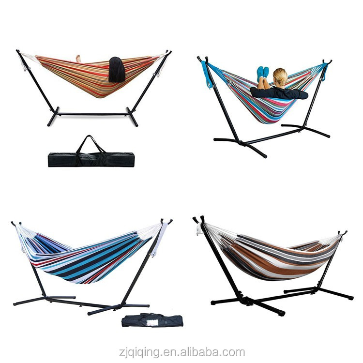 Portable Hammock Chair Stand Superior Cheap Hammock Deluxe Stand Best Camping Hammock HF-21-18