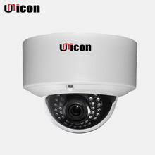 Unicon Vision factory 4mp vandal-proof ir outdoor p2p shenzhen h.265 ip dome camera