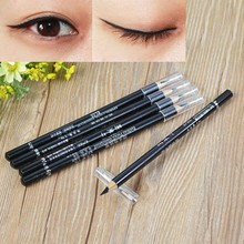 Thin Design Makeup Eyeliner Waterproof, Sexy Black Eyeliner Stamp Cat Eyes Makeup Cosmetic Tool