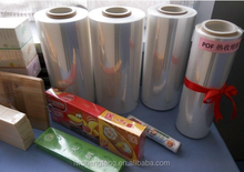 POF Heat Shrink Wrap Film ,12.5mic,15mic,19mic,25mic