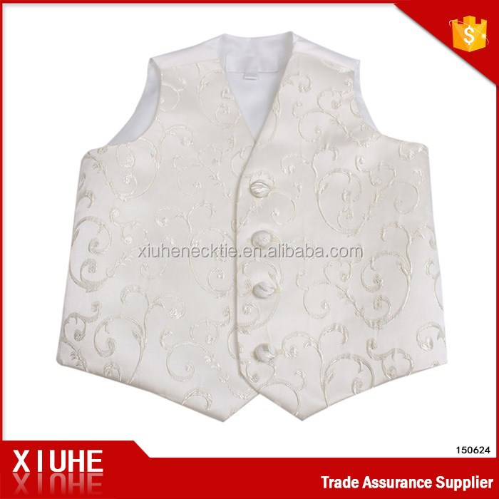 2015 Wholesale adorable summer wear boy baby waistcoat