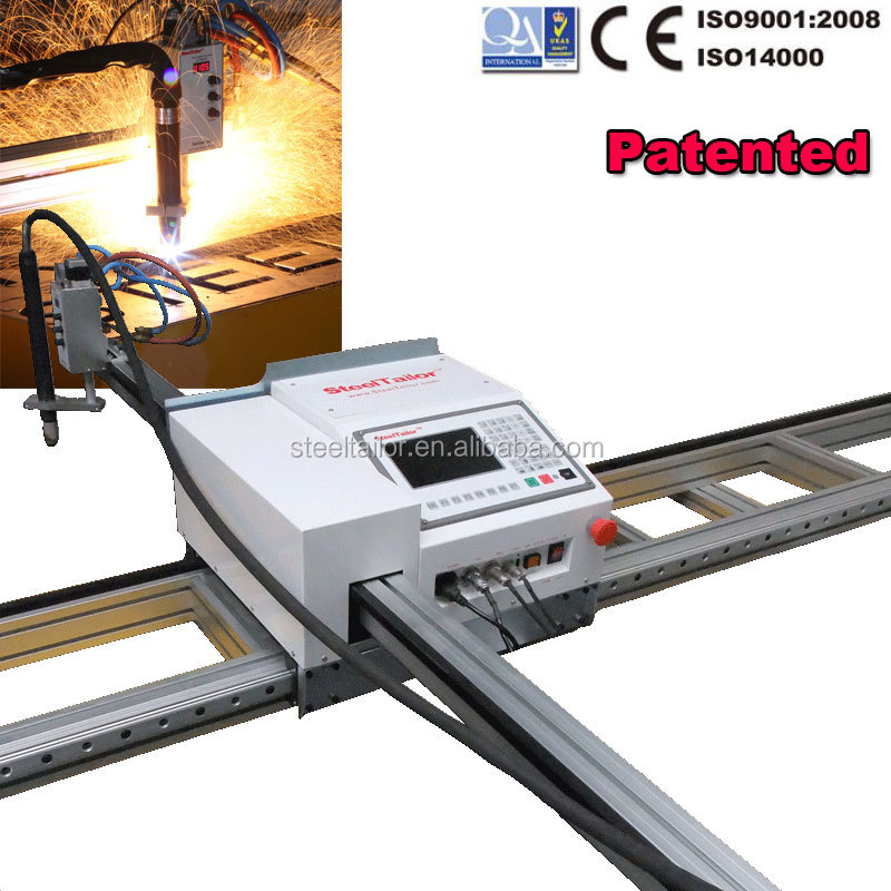 Patented! SteelTailor Valiant Portable cnc flame/plasma cutting machine aluminum composite panel cutting machine