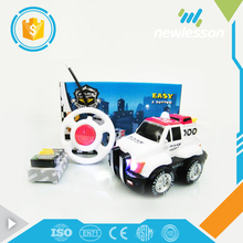 new item 2 channels black wheels cartoon rc kids toy car engine with lights