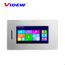 2017 latest tcp ip apartment video door phone intercom system