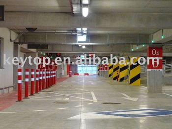 parking guidance systems(Poland Krakow airport)