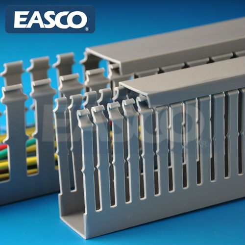 EASCO Wiring Duct For Electrical PVC Cable Covering