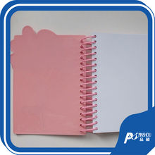 clear pvc notebook cover a4 pvc notebook