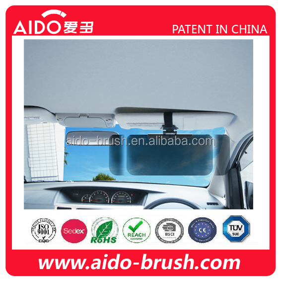 Car Anti-Glare Sun Shield Mirror