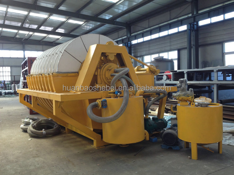 Mining Ore Dewatering Equipment, Ceramic Vacuum Filter for Sludge Dewatering