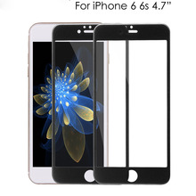 accept paypal new premium wholesale frosted anti fingerprint tempered glass screen protector film for iPhone 6/6s