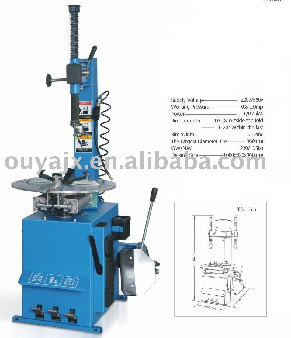 CE Semi-automatic Tire changer&tyre changer,wheel remover
