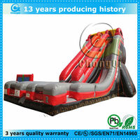 cheap double inflatable water slide for sale
