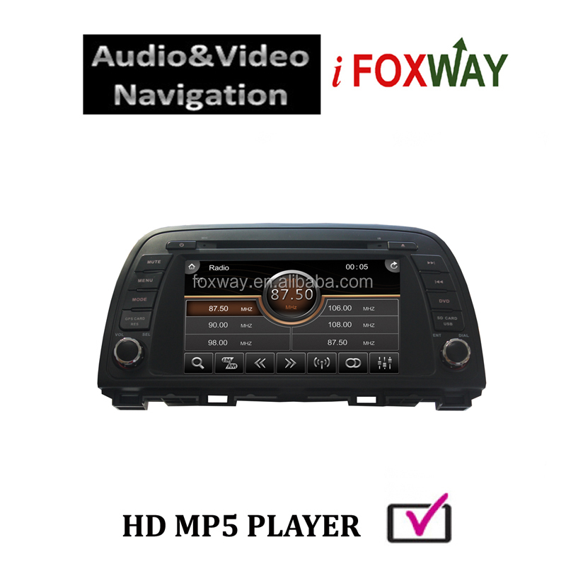 mazda 6 car audio/radio gps navigation system