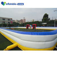 Inflatable football arena for hot sale panna football pitch customized inflatable soccer field / pitch