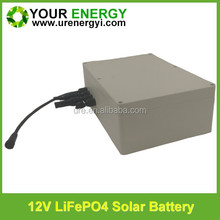 competitive price lifepo4 battery pack 4S12P 12V 40AH solar battery for street led light