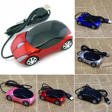 2.4Ghz optical mouse PC laptop computer accessories1600 DPI wire mouse fashion super car shaped mouse