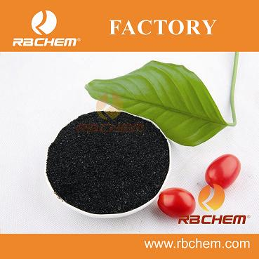 RBCHEM product high efficient humic acd seaweed extract folia fertilizer in powder